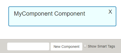 admire your component